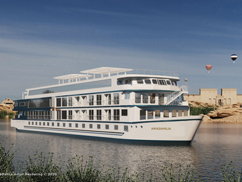 AmaWaterways celebra el viaje inaugural por el río Nilo de AmaDahlia