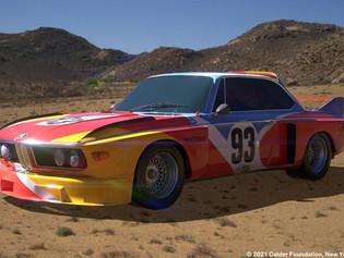 Los BMW Art Cars se vuelven digitales