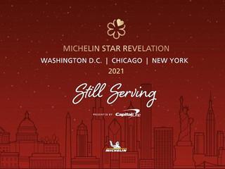 La guía Michelin anuncia nuevas estrellas en Washington D.C.