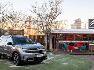 Citroën te acerca la nieva en Buenos Aires