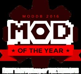 Mod of the Year 2016 - Moddb