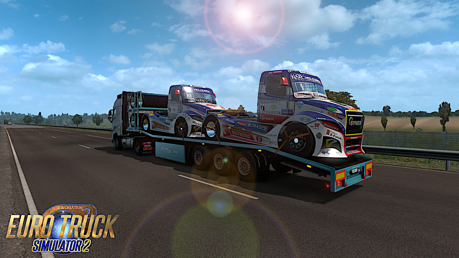 D B Creation | Euro Truck Simulator 2 | 1 35 | AI Mods | Download