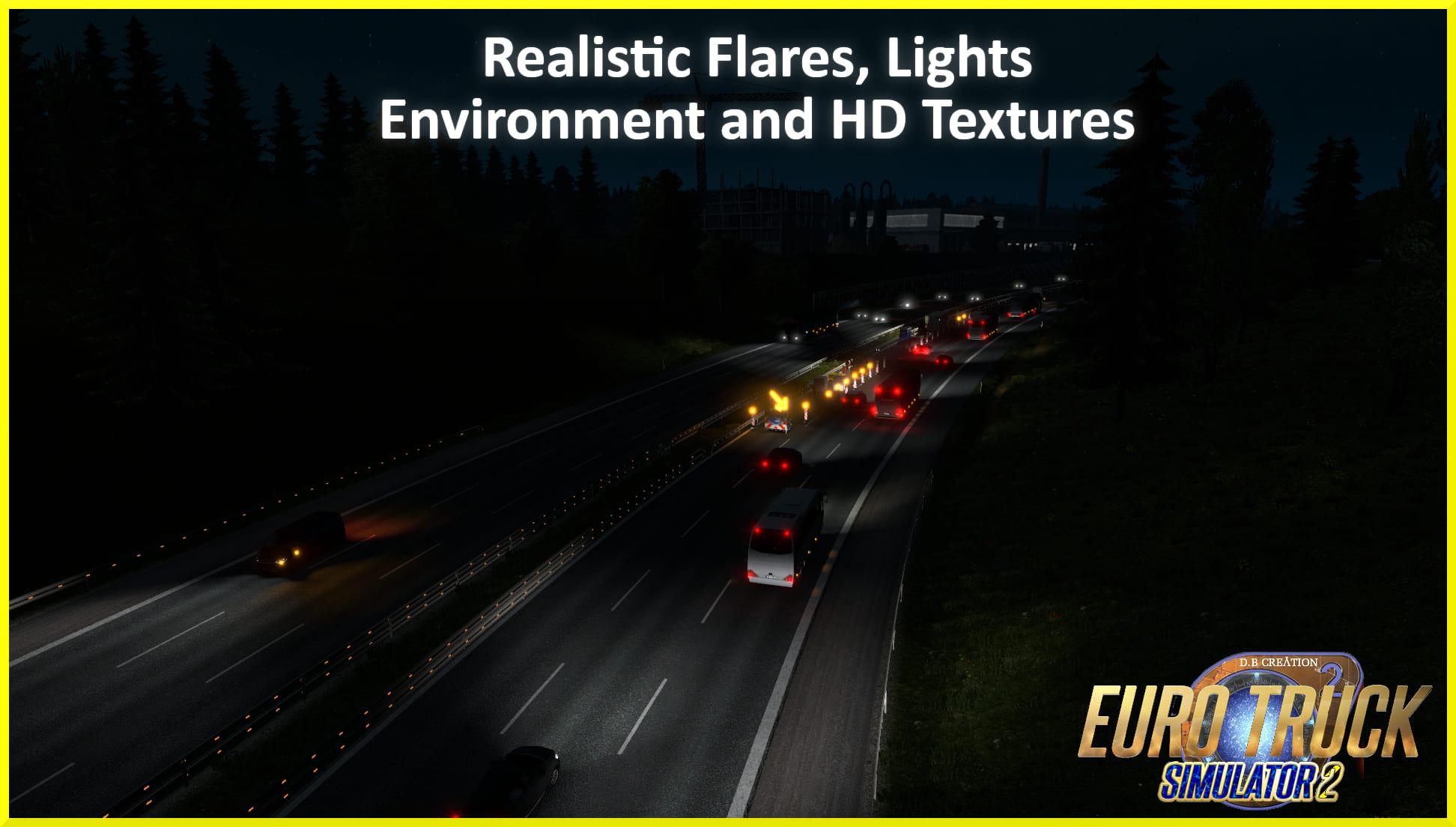 D.B Creation AI Traffic Mod 1.35 [Ver. 2]
