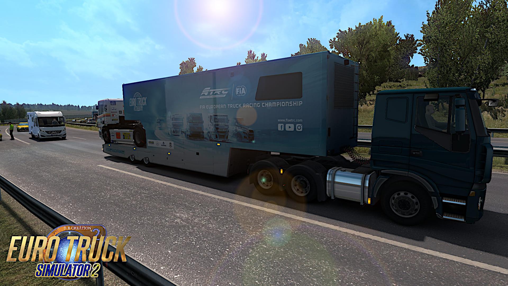 D B Creation | Euro Truck Simulator 2 | 1 35 | AI Mods