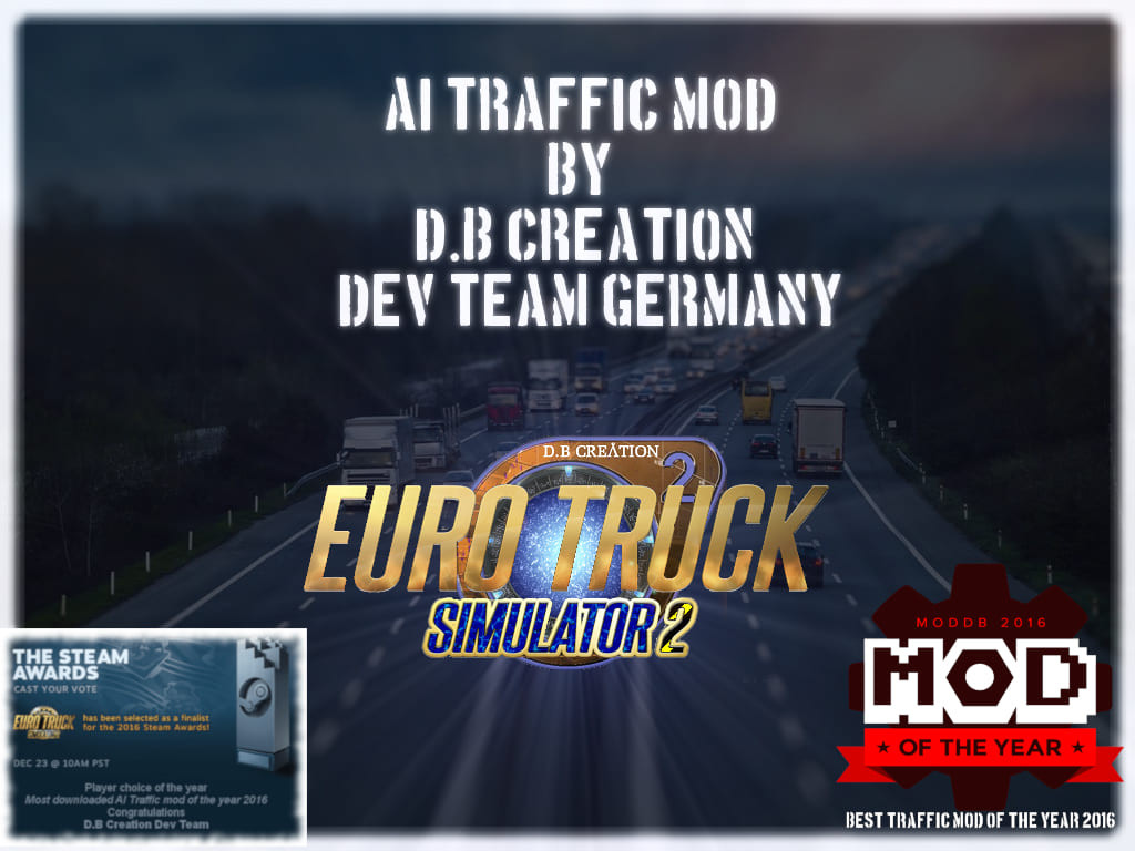 D.B Creation AI Traffic Mod 1.35 [Ver. 2]