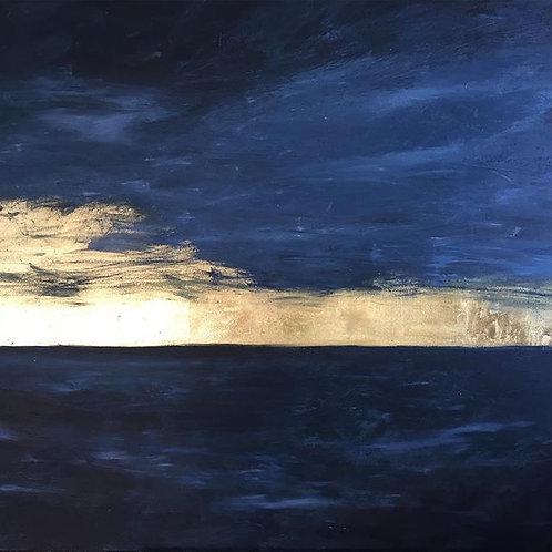 Gilded Horizon Paintings (Range of sizes)