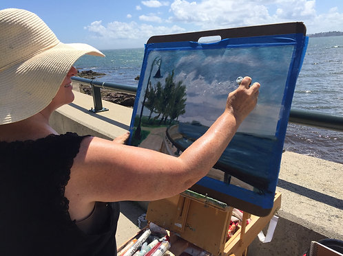 Plein Air Painter for your wedding or other event