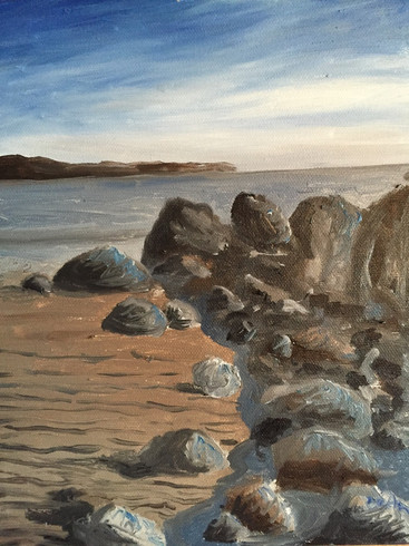 Rocks on Kings Beach, Lynn, MA