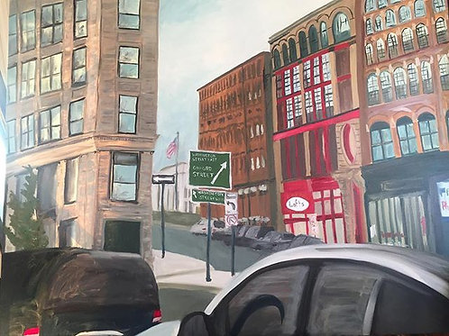 Central Square, Lynn, MA 5 ft x 5 ft