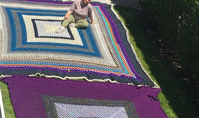 The picnic blanket is GROWING!