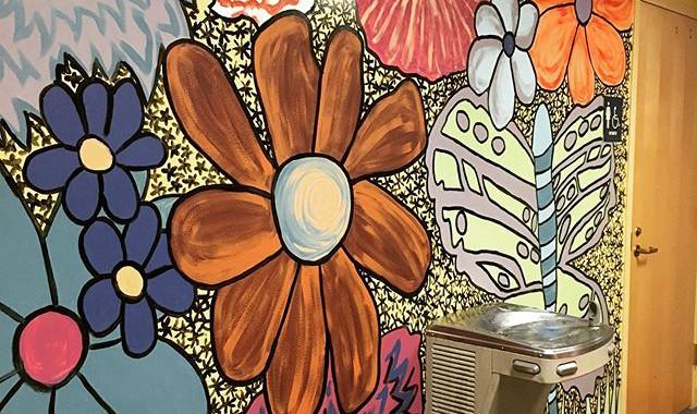 Murals at the LynnArts building