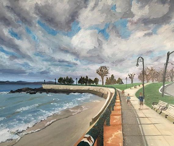 The Promenade Along Lynn Shore Drive. Oi