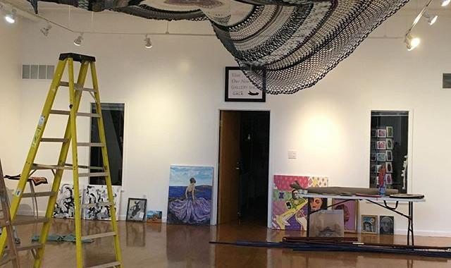 Sky Doilly - an installation