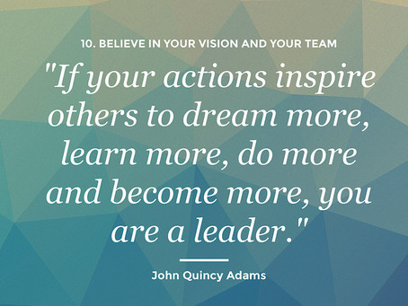 A Coffee Break of Inspirational Leadership: Replace Yourself