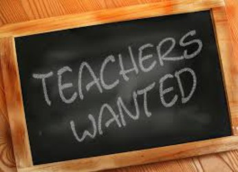 The Teacher Shortage…What to do? What to do?