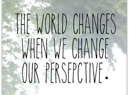 A Coffee Break of Inspirational Leadership: It's About Perspective