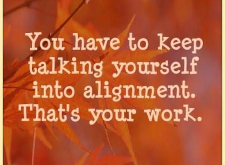 A Coffee Break of Inspirational Leadership: Work/Life Alignment
