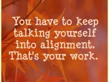 A Coffee Break of Inspirational Leadership: Work/Life Alignment