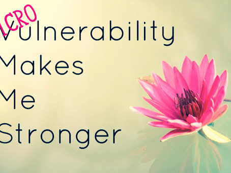 A Coffee Break of Inspirational Leadership: Microvulnerability