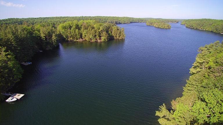Hayes Bay, West Devil Lake