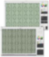 ニットシミュレーションサンプル作成の画面