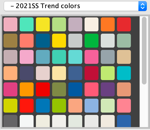2021SS Trend colors