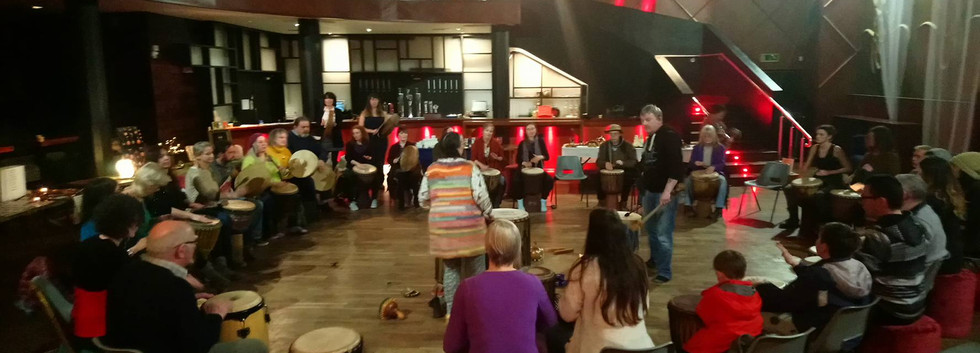 Drumming and Dance