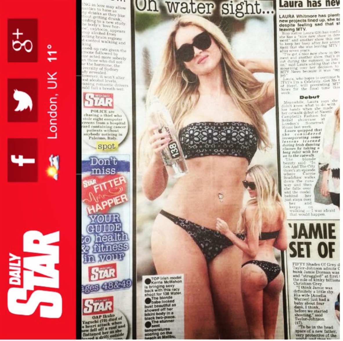 138 Water in Daily Star