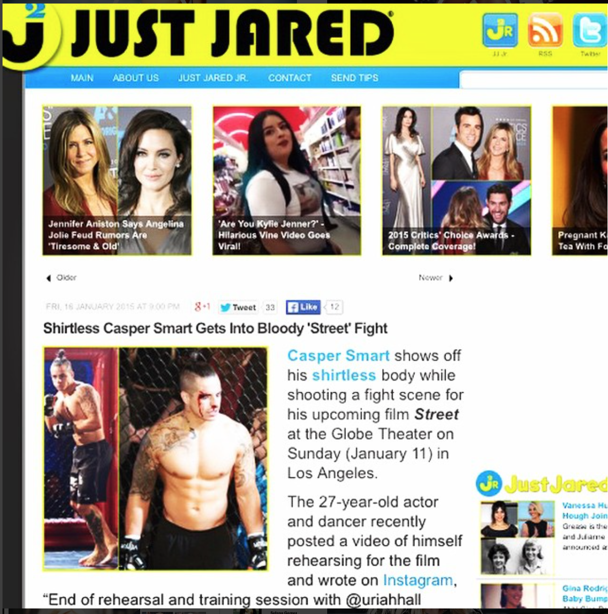 138 Water in JustJared
