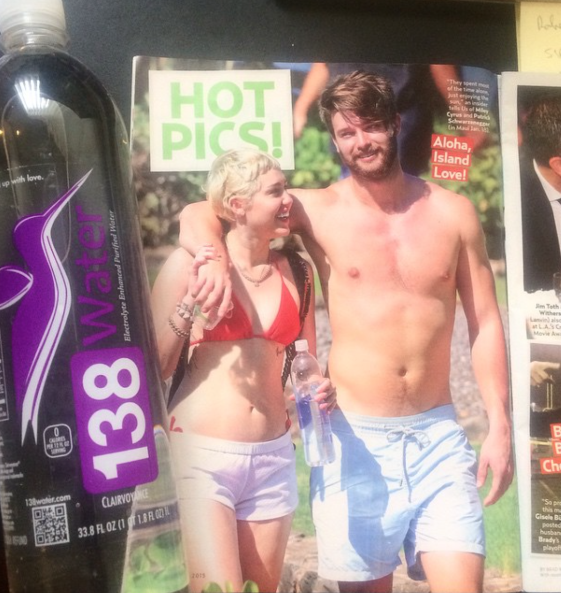 138 Water in US Weekly