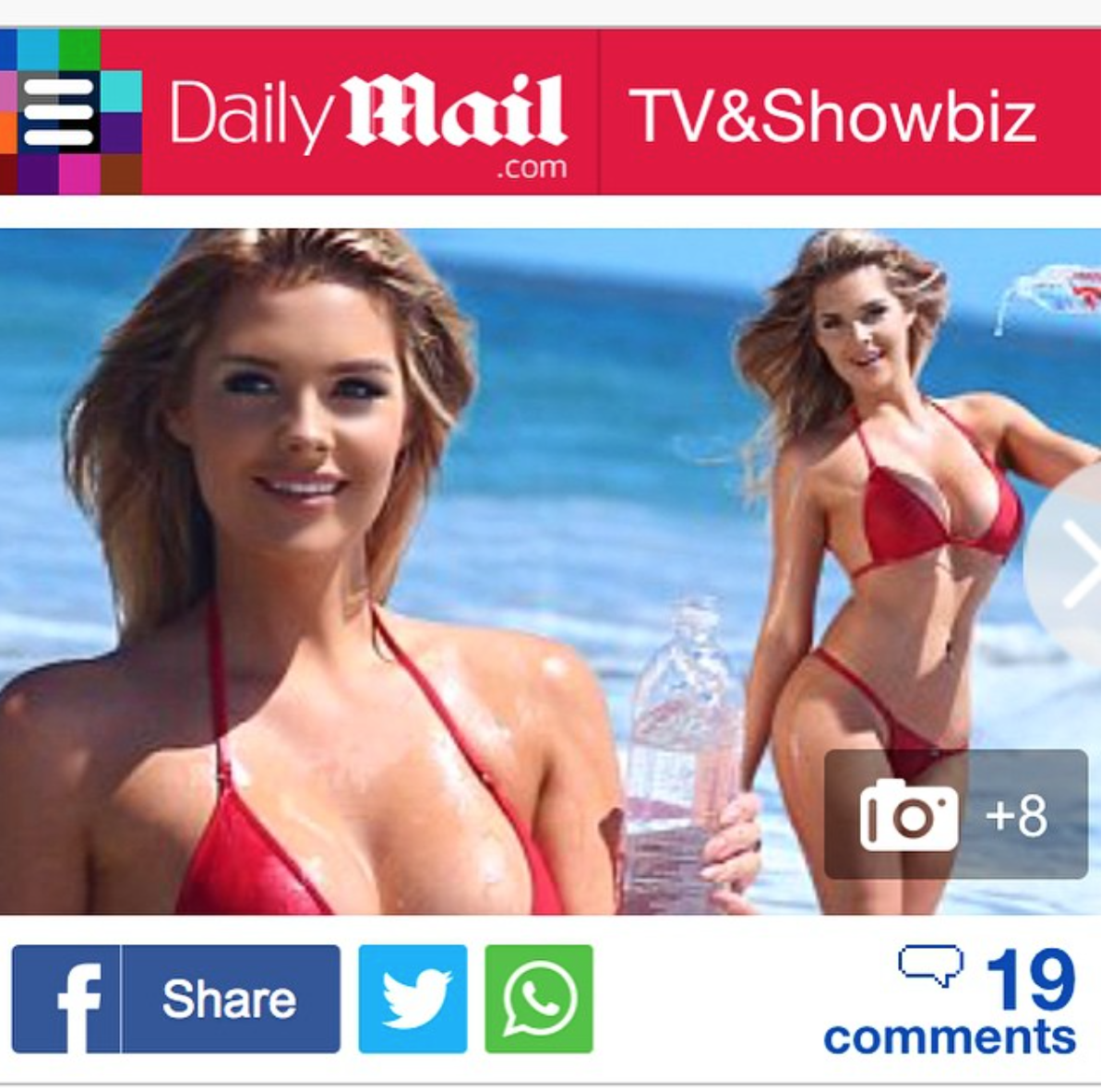 138 Water in Daily Mail