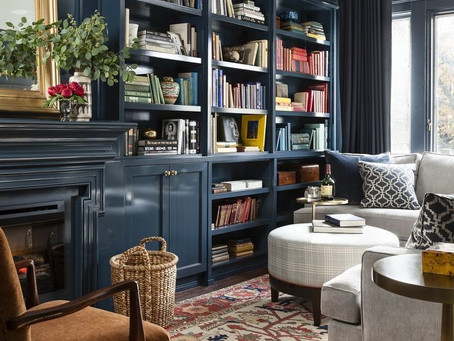 How To Design A Fabulous Home Library