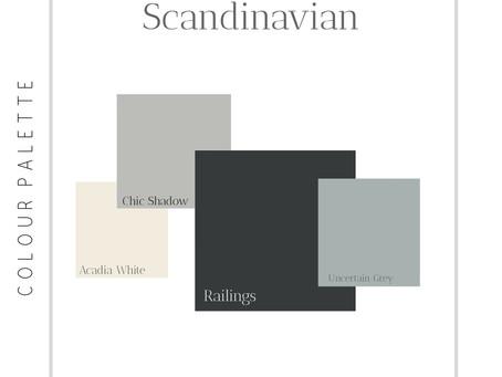 Interior Design Styles & Colour Palettes, Part 1