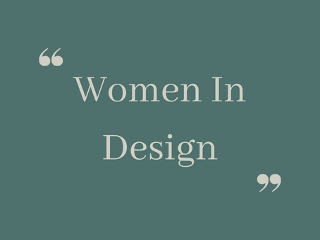Celebrating Women In Design