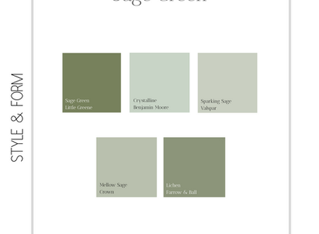 Sage Green   Interior Design