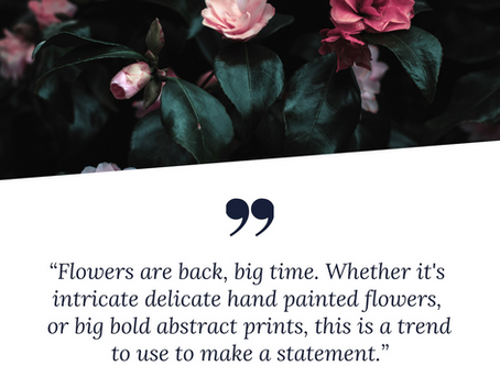 How To Design With Florals