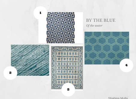 Shop The Look - Blue Rugs