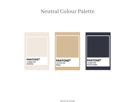 Colour Palette Of The Month