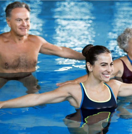 Aqua Rücken fit, 10x45 min