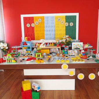 Festa Lego em: a roda do ônibus gira, gira