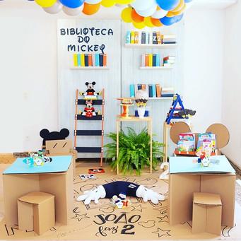 Biblioteca do Mickey