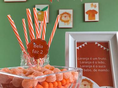 Papelaria - A Bela cor laranja