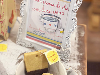 """Festa tema """"Chá da tarde"""""""