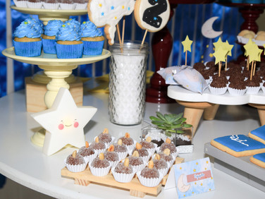 Decoração de festa infantil tema Sonhos