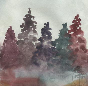 Autumnal Pines