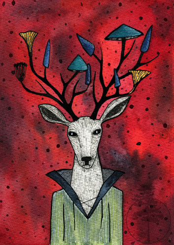Mushroom Deer