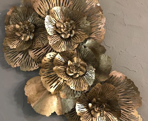 Un bouquet doré