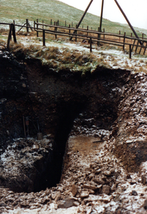 112. East end of mine exposed.bmp