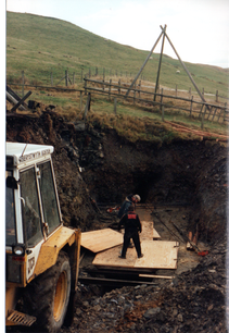 128. Shuttering, East end of stope.bmp