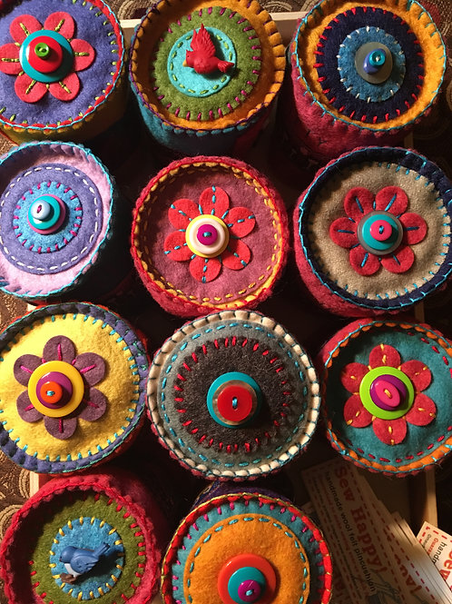 Sew Happy Pincushions